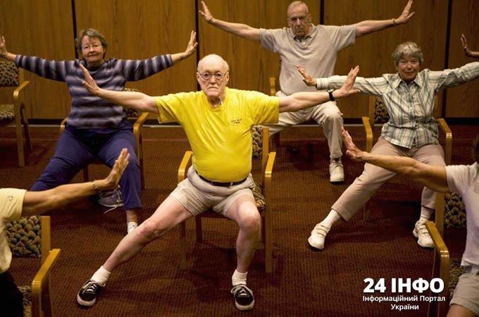 заняття спортом в будь-якому віці